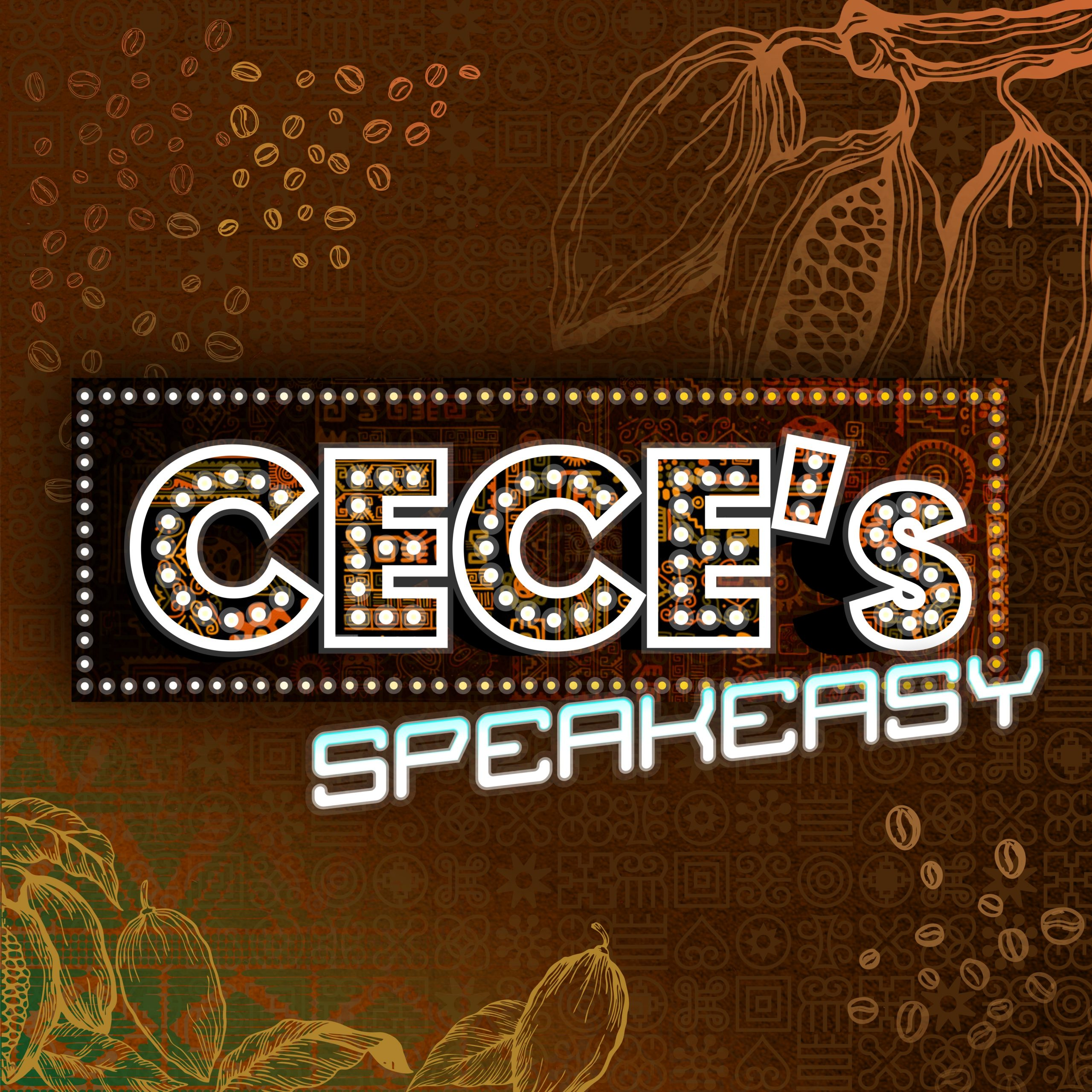 Logo for Cece's Speakeasy event